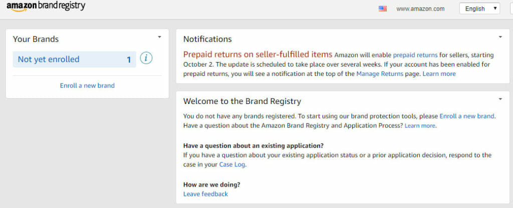 amazon brand registry benefits